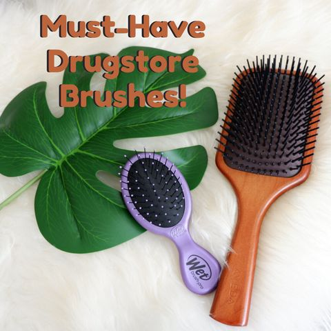 Have Wavy&Thick Hair? These 2 Brushes To Get Healthy Shiny Hair😍😍