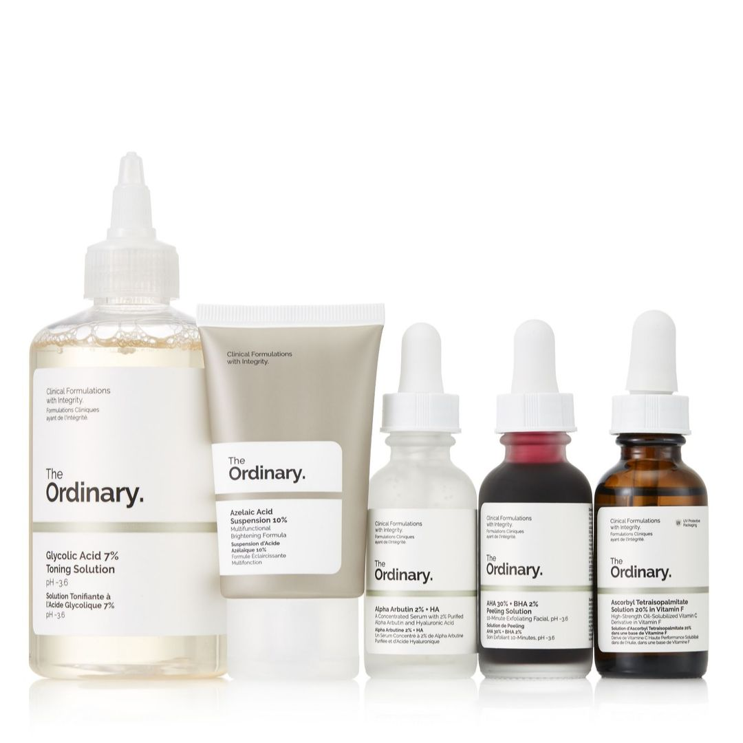 5 Piece Glowing Skin Collection