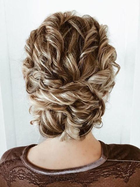 Easy And Perfect Hairstyle For Curly Hair🤩🤩