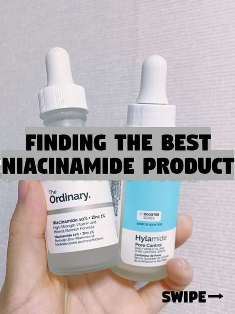 Guess Which One Is The Game Changing Niacinamide Serum?😆😆