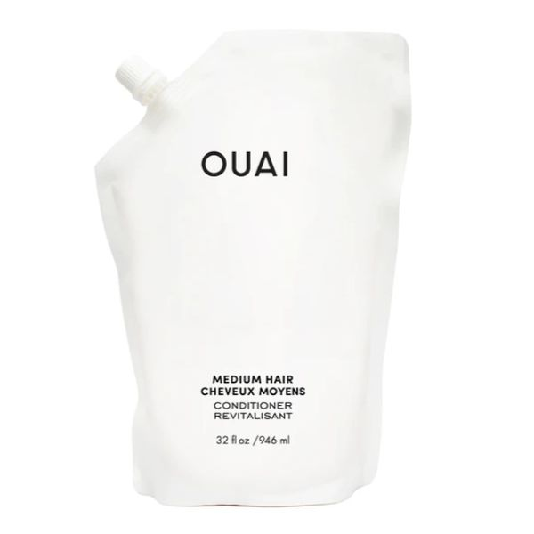 Medium Conditioner Refill Pouch, OUAI, cherie