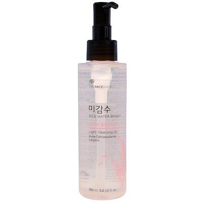 Rice Water Bright, Light Cleansing Oil, THE FACE SHOP, cherie