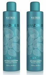Amazonliss Home Care Anti Frizz Shampoo and Conditioner Set