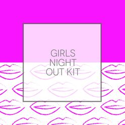 Girl's Night Sticker