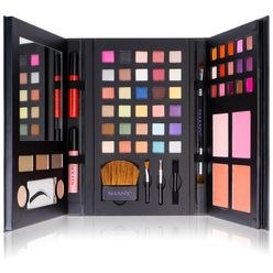 Luxe Book Makeup Set All In One Travel Cosmetics Palette
