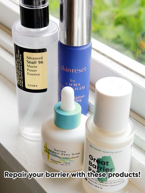 These products will help repair your barrier