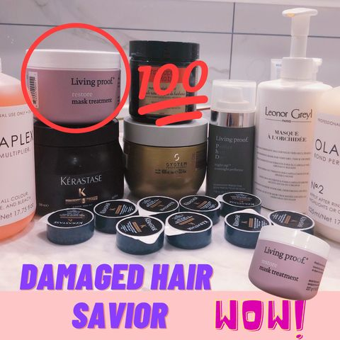 A hair mask that brings damaged hair back to life!!!✨