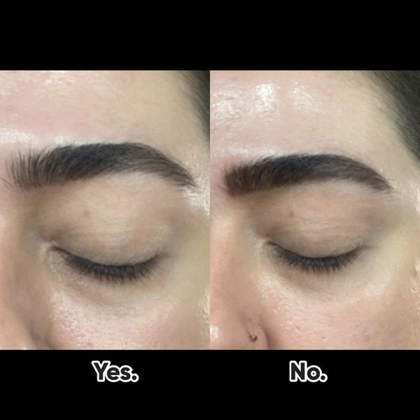 Sharpie Eyebrows No More Cherie