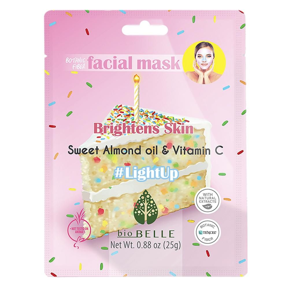 #lightUp Almond Oil and Vitamin C Mask