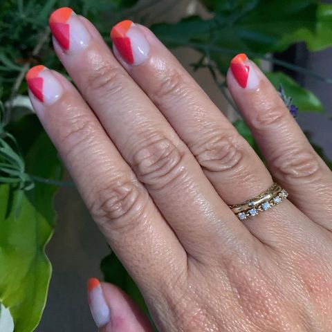 Great summer color combo!