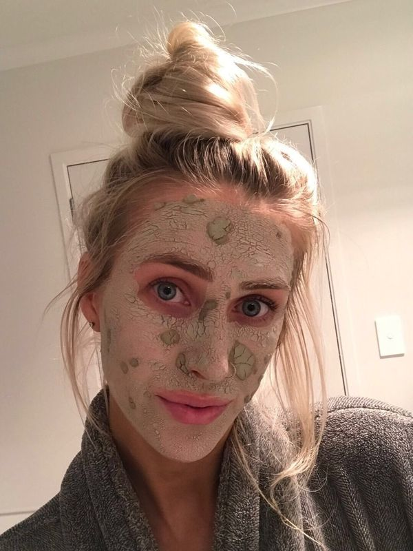Trying out the Aztec Secret Indian Healing Clay!   Cherie