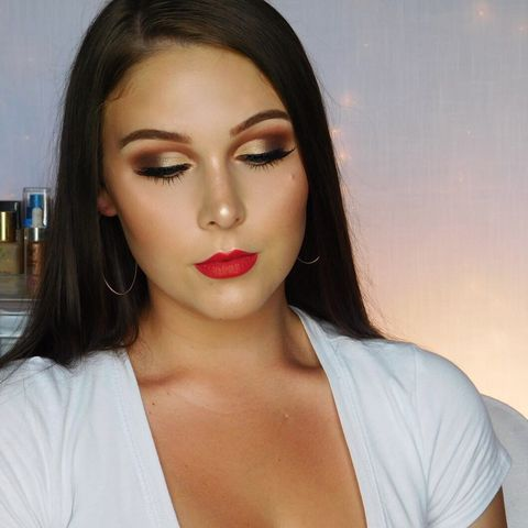 A GRWM on this look