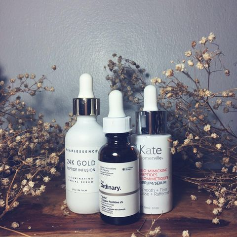 Some Pep in Your Step (Peptides Serums)
