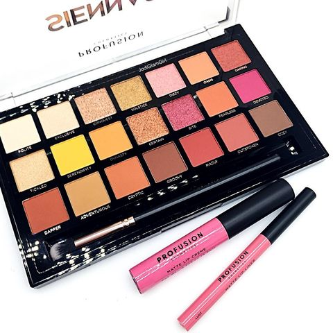 Profusion Sienna palette as we