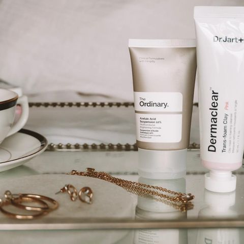 My two skin clearing, acne bus