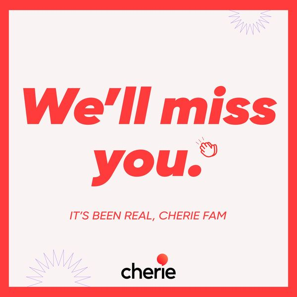 We'll Miss You!   Cherie