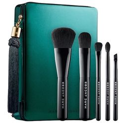 Your Place Or Mine? Five-Piece Travel Brush Collection