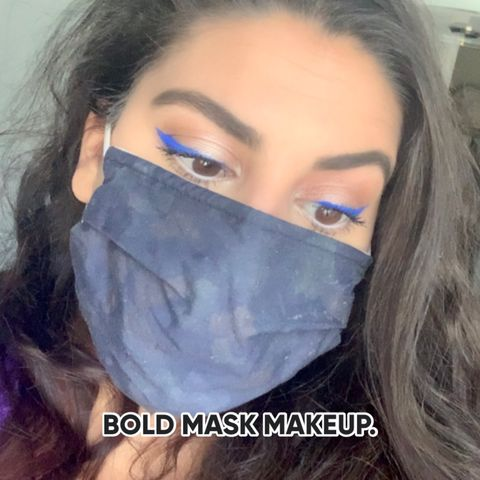 Who said wearing a mask has to be boring?😷BOLD.