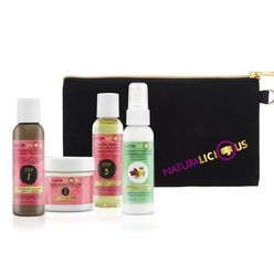Deluxe Travel Set With Custom Clutch Curls &