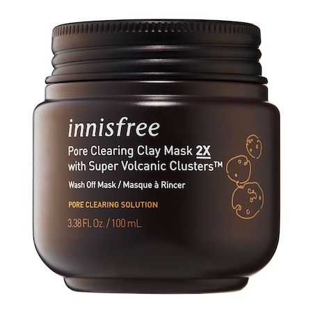 Super Volcanic Clusters Pore Clearing Clay Mask