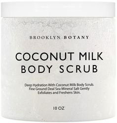 Coconut Milk Body Scrub