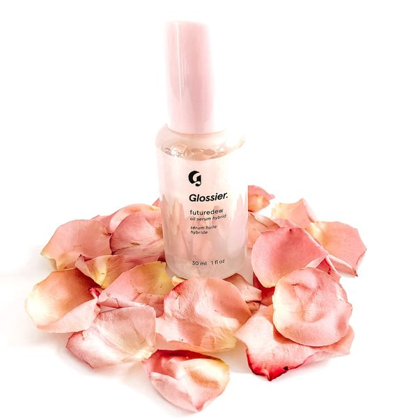 Glossier - Futuredew Oil Serum Hybrid It's a serum-oil hybrid that is applied as the... | Cherie