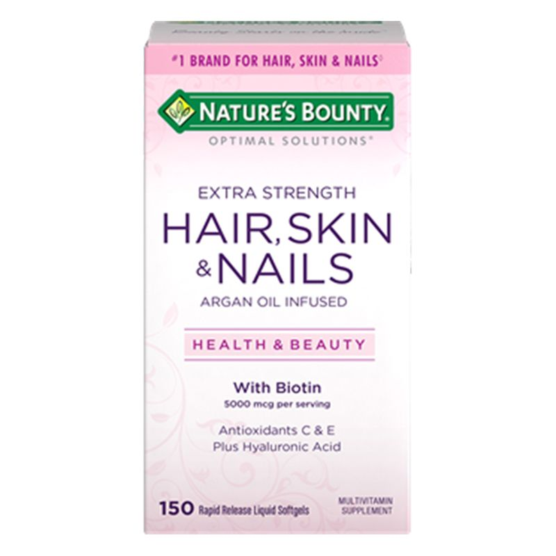 Extra Strength Hair, Skin & Nails