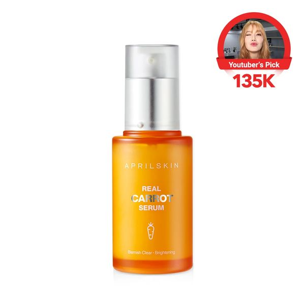 Real Carrot Blemish Clear Serum, APRILSKIN, cherie