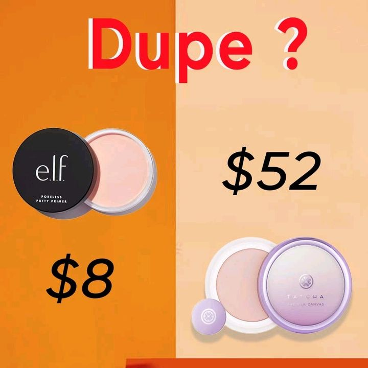 Dupe alert of TATCHA 🚓 e.l.f. 💕$8 vs. 54$