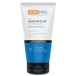 Kaolin Clay Detox Mask with Charcoal