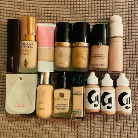 My foundation collection 🥳
