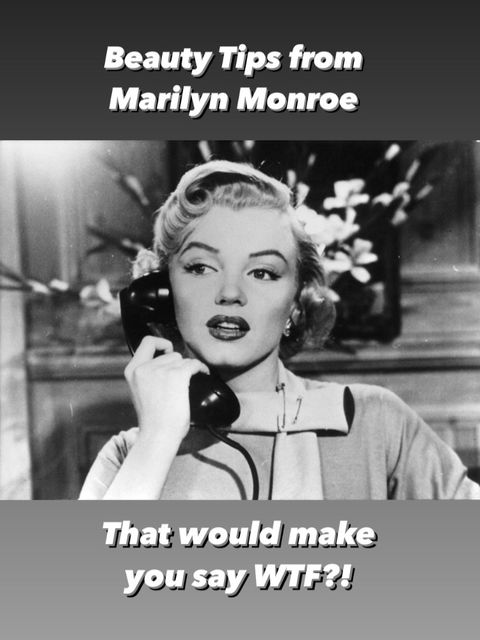 3 Beauty Tips From Marilyn Monroe  That Will Mak