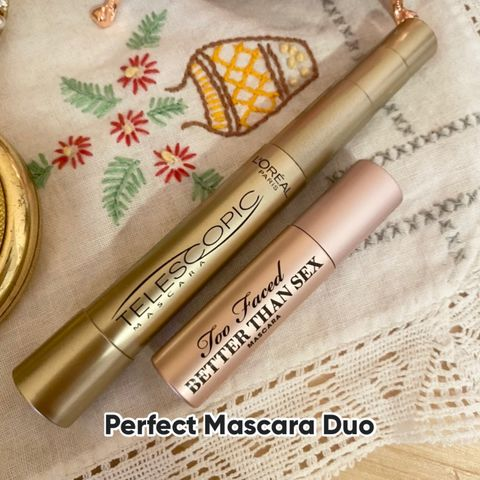 Full and Long Lashes - The Perfect Duo