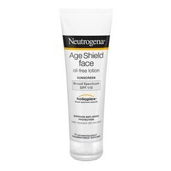 Age Shield Face, Oil-Free Sunscreen, SPF 110