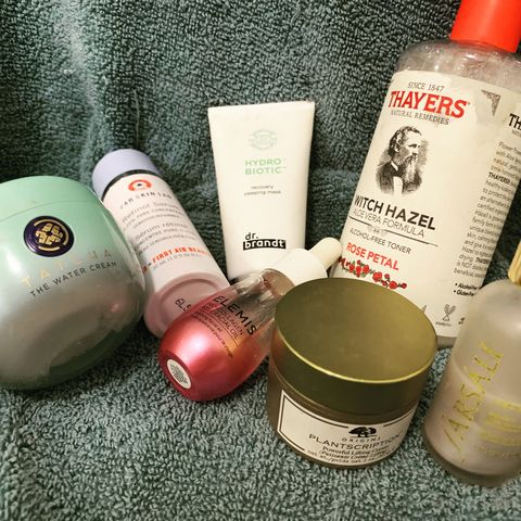 Anti-aging routine for dry skin