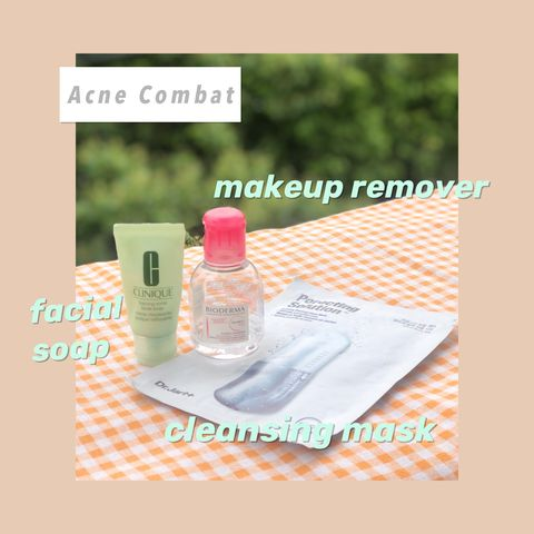 Acne can be combatted as long as you choose appropriate products!!