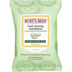 Facial Cleansing Towelettes Cucumber and Sage