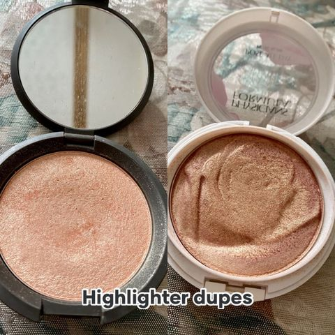Dupe for the Becca champagne p