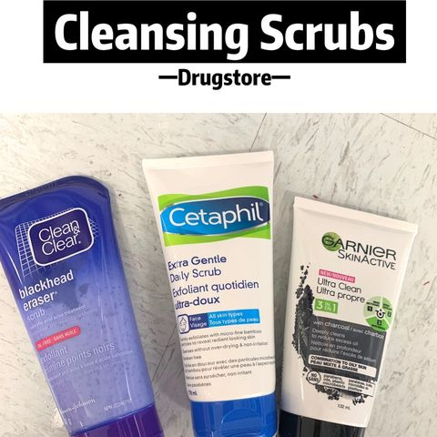 Choose the right facial scrub from Drugstore