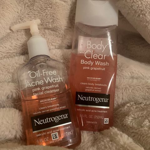 Acne Face and Body wash must haves