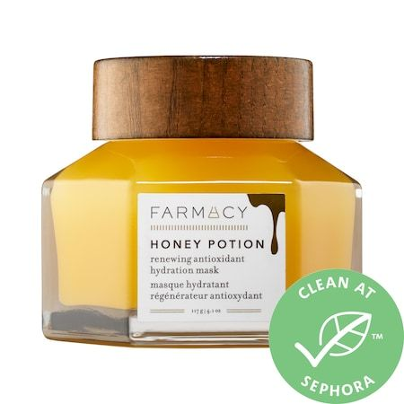 Honey Potion Renewing Antioxidant Hydration Mask, FARMACY, cherie