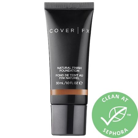Natural Finish Foundation, COVER FX, cherie