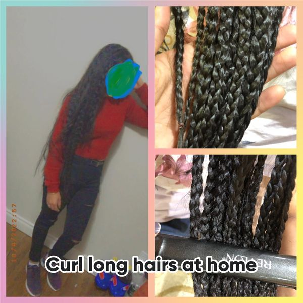 1 Wash your hair and condition it 2 take small sections and braid your hair... | Cherie