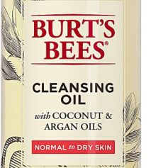 Facial Cleansing Oil with Coconut & Argan Oils, BURT'S BEES, cherie