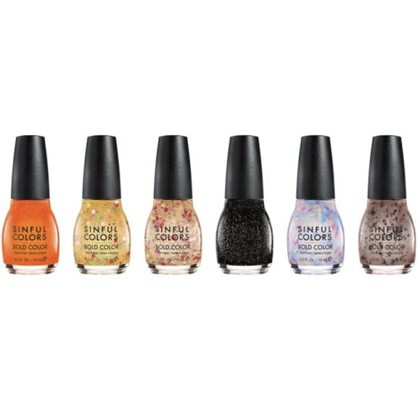 Sweet and Salty Nail Polish, SINFULCOLOR, cherie