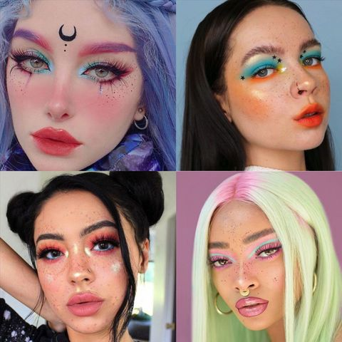 E-girl looks that will take your makeup to the next level !