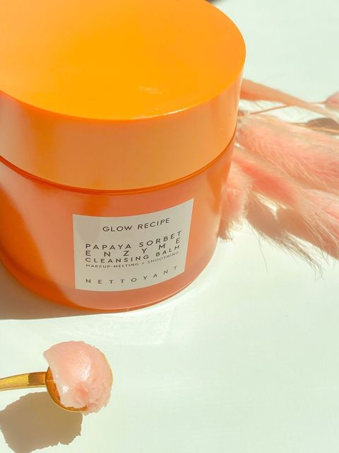A gentle cleansing balm