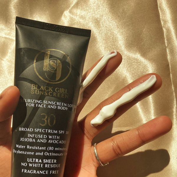 BLACK GIRL SUNSCREEN🖤 | Cherie