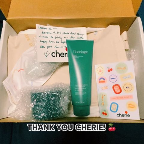 Better late than never..thank you Cherie