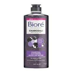Biore's Charcoal Cleansing Micellar Water